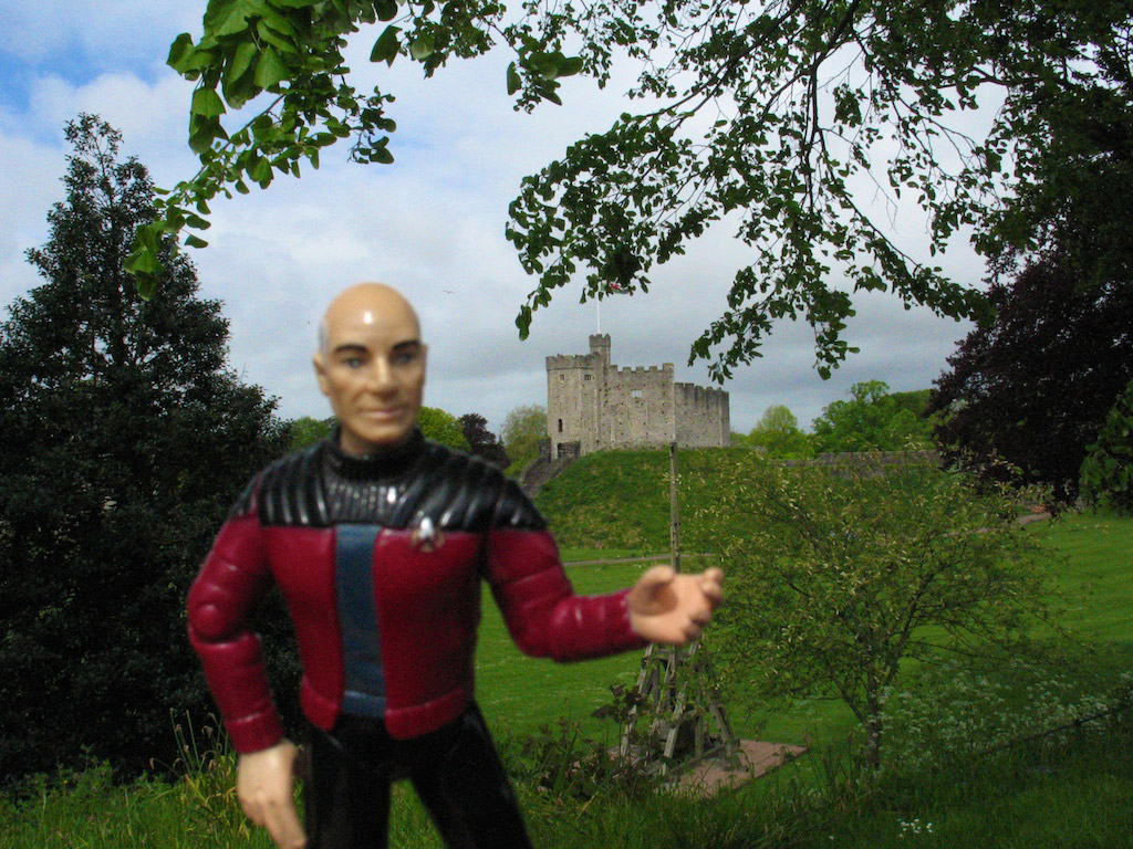Jean Luc visits Cardiff Wales