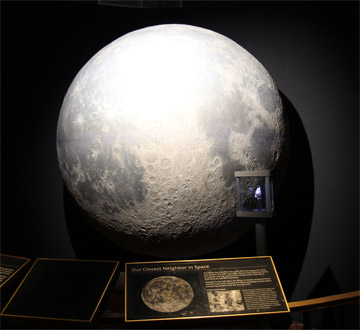 Griffith Observatory Moon exhibit